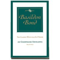 Basildon Bond Envelope Small Champagne Pack of 20 100080069