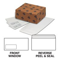 Basildon Bond Watermarked Envelope DL Window 90gsm White Peel and Seal Pack of 500 A80117