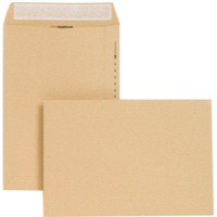 New Guardian Envelope 254x178mm 130gsm Manilla Self-Seal Pack of 250 C26803