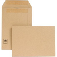 New Guardian Envelope C5 229x162mm 130gsm Manilla Self-Seal Pack of 250 D26103