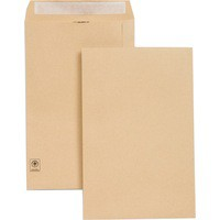 New Guardian Envelope 353x229mm 130gsm Manilla Self-Seal Pack of 250 E27303