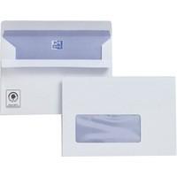 Plus Fabric Envelope C6 Window 110gsm White Seal-Seal Pack of 500 F22670