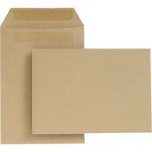 New Guardian Envelope C5 229x162mm 80gsm Manilla Self-Seal Pack of 500 H26211