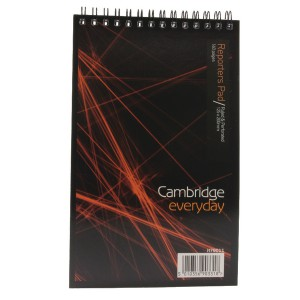 Cambridge Spiral Notebook 5x8 inches 80 Leaf Ruled Feint Head Bound 100080496
