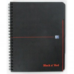 Black n Red A4 Project Book 100080730