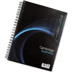 Cambridge Executive Wirebound Notebook A4+ Punched 4-Hole Ruled Feint Margin 320pp 100080518