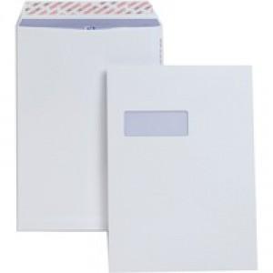 Plus Fabric Envelope Easy-Peel C4 Window White Pack of 250 L23970