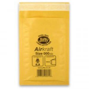 Jiffy AirKraft Bag Gold 90x145mm Pack of 150 JL-GO-000