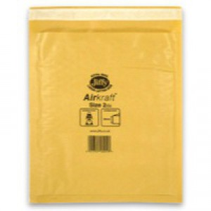 Jiffy AirKraft Bag Gold 205x245mm Pack of 100 JL-GO-2