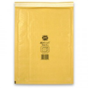 Jiffy AirKraft Bag Gold 260x345mm Pack of 50 JL-GO-5