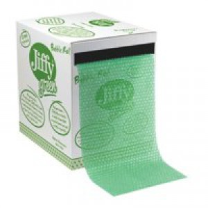 Jiffy Green Bubble Dispenser Box 43010