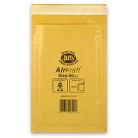 Jiffy AirKraft Bag Size 00 Gold Multi Pack of 10 MMUL04601