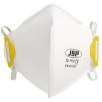 JSP Fold Flat Disposable Vertical Mask FFP2 221 White BEA120-101-000