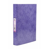 Image for Concord Contrast A4 Laminated Ring Binder Purple 82196