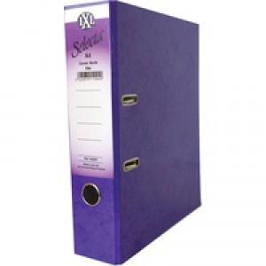 Concord IXL Selecta Lever Arch File A4 Purple 162287
