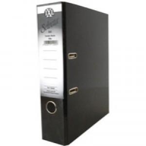 Concord IXL Selecta Lever Arch File A4 Black 162222