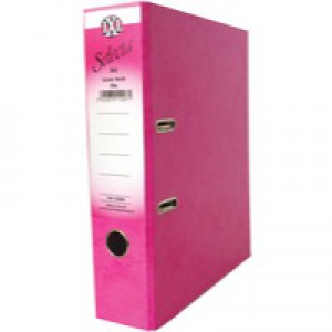 Concord IXL Selecta Lever Arch File A4 Pink 162242