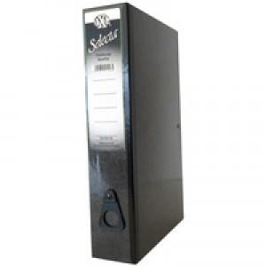 Concord IXL Selecta Box File Foolscap Black 264122
