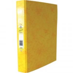 Concord IXL Selecta Ring Binder A4 Yellow 462287