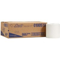 Scott Hand Towel Roll 1-Ply Airflex White Pack of 6 6667
