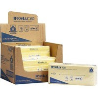 Wypall X50 Cleaning Cloths Pack of 50 Yellow 7443