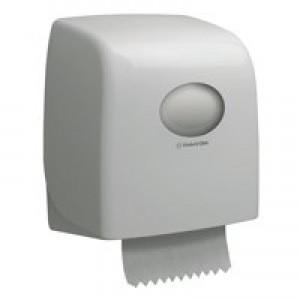 Aquaris Slim Roll Hand Towel Dispenser White 6953