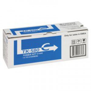 Kyocera Toner Cartridge Cyan TK-580C