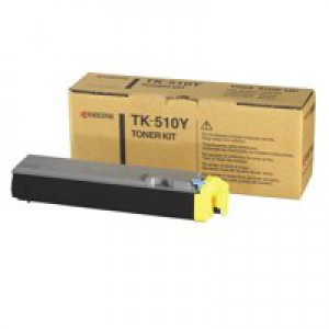 Kyocera FS-C5020/FS-C5030 Toner Cartridge 8000 Pages Yellow TK-510Y