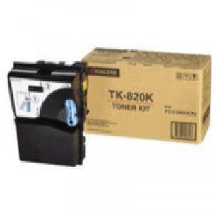 Kyocera FS-C8100DN Laser Toner Cartridge Black TK-820K