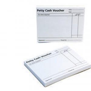 Q-Connect Petty Cash Voucher Pad Code KF00103