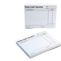Q-Connect Petty Cash Voucher Pad Code