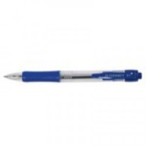 Q-Connect Retractable Ballpoint Pen Blue
