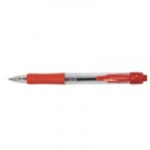 Q-Connect Retractable Ballpoint Pen Red