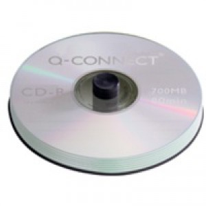 Q-Connect CD-R 700Mb/80minutes Spindle Pack of 50 KF00421