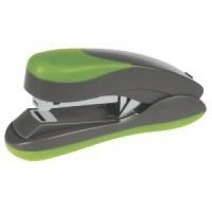 Q-Connect Softgrip Half Strip Stapler Green KF00992