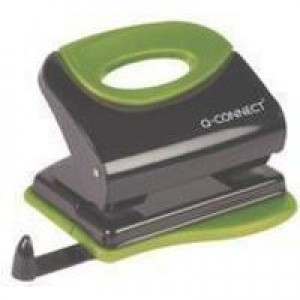 Q-Connect Softgrip Metal Hole Punch KF00996