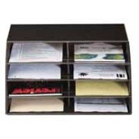 Q-Connect Mail Sorter Black