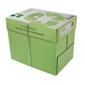 Q-Connect Recycled Copier Paper A4 80gsm Ream White KF01047