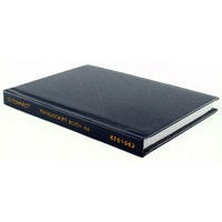 Q-Connect Manuscript Book A6 Ruled Feint 96 Pages