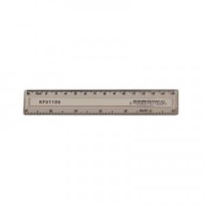 Q-Connect Ruler 150mm Clear KF01106Q