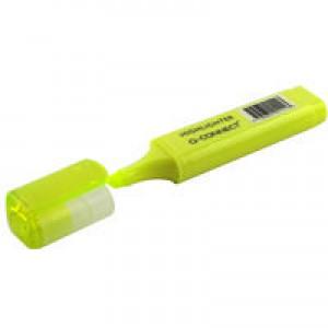 Q-Connect Highlighter Pen Yellow Pk 10 KF01111