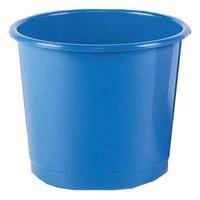 Q-Connect Waste Bin 15 Litre Blue