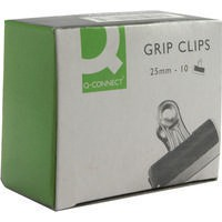 Q-Connect Grip Clip 25mm Pack of 10