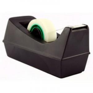 Q-Connect Tape Dispenser For 33 Metre Tapes Black KF01294