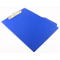 Q-Connect PVC Clipboard Foolscap/A4 Blue