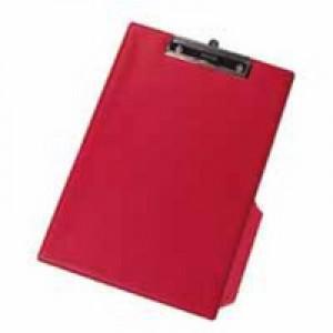 Q-Connect PVC Clipboard Foolscap/A4 Red