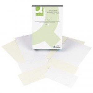 Q-Connect Business Paper A4 100gsm Laid Antique Vellum Ream
