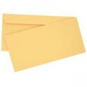 Q-Connect Envelope DL Peel and Seal Laid Vellum Pack of 500 KF01443