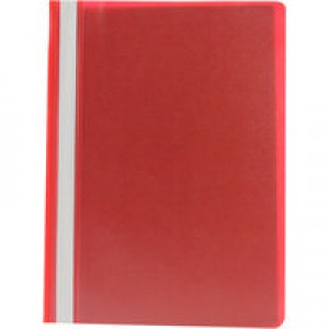 Q-Connect Project Folder A4 Red Pack of 25 KF01455