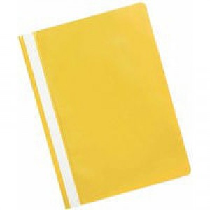 Q-Connect Project Folder A4 Yellow Pack of 25 KF01457